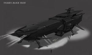 The Black Yacht by the-other-hand