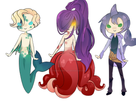 CLOSED Sea Adoptables- 15-25 Points by fawned-over-art