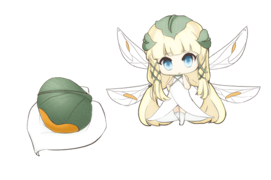 Calla lily egg adopt by chocobikies