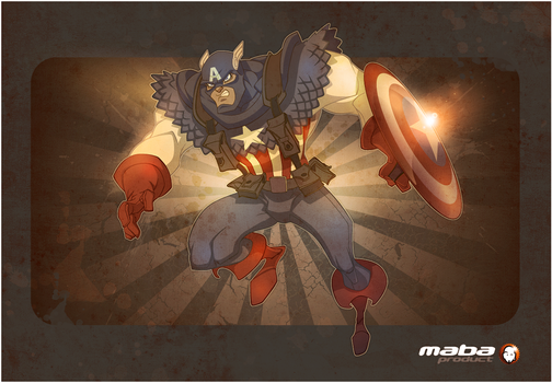 Tribute to Steve Rogers by MabaProduct