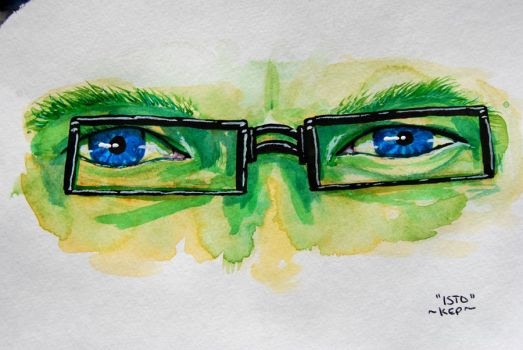 Isto Eyes - Gaia Commission by Keppit