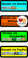 Donation Buttons by theinfamousj