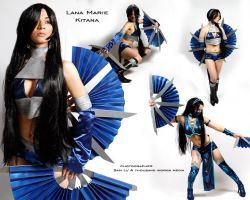 Alternate Kitana - Mortal Kombat 9 by LanaMarieLive