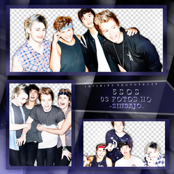 5SOS photopack PNG by ForeverTribute