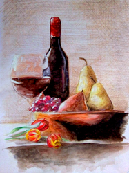 Still Life Practice by audreytriggers