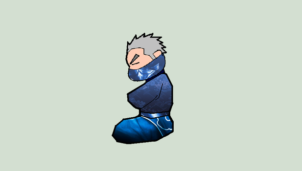 Sleeping Ninja by NeutralHumanity