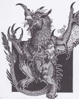 Griffin by XenoTeeth3