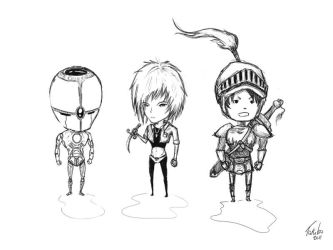 Draft - Random Characters by takebo