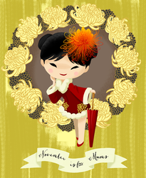 November is for Mums by Ikupoo