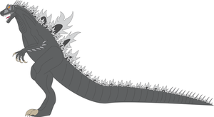 New Godzilla Design by Daizua123