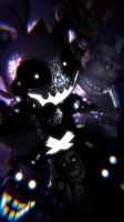 Shadow Toy Chica Phone Wallpaper by TickTockGJ