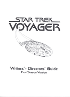 Star Trek Voyager Writers' and Directors' Guide Al by StandingLeaf