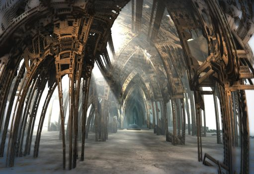 Hall of Arches by HalTenny