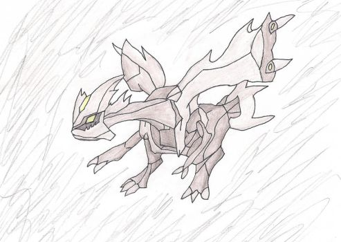 Kyurem (Traditional) by Rpshadow100