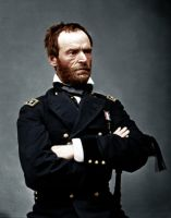 William T. Sherman as Major General by Zuzahin