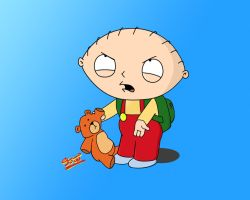 Stewie family guy wallpaper by ecco666