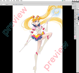 Sailor Moon WIP by Channel-Square