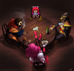 Playing cards by Ceresy
