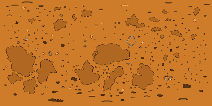 Alien Moon Basemap [COMMISSION] by RvBOMally