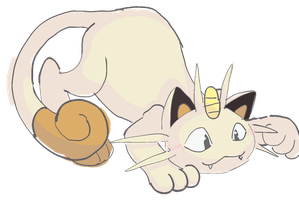 Meowth by Ikpoke