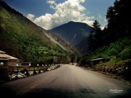 Somewhere near Naran by xeeshan-ch