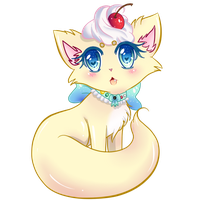 Commission: Buttercream Nekomimi by VictoriaLynnDesigns