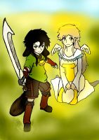 Arnor and Allecia by 13thprotector