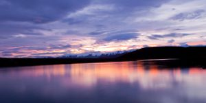 Southern Lakes Canal Sunset by Niv24