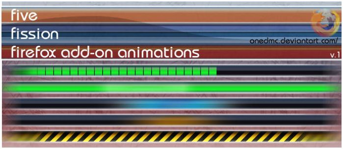 Five Fission Animations by onedmc