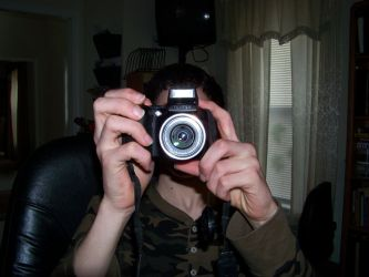 Me taking a picture by danopia