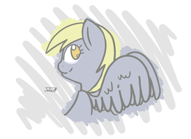 Ignore the Borders - Derpy by Nephrited