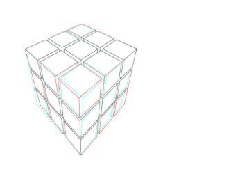 Anaglyph Cubes by NewWorldPunk