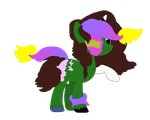 Adopt Dimentio and Mr L Crack mlp by GamingStarLuigiSin