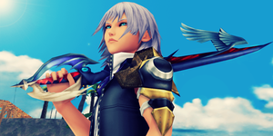 Young and brave Keyblade Master by SnowEmbrace