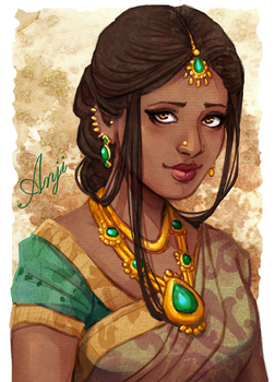 Anji Jadhav by Acaciathorn