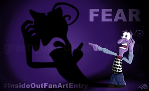 FEAR - Inside Out by GreenYosh