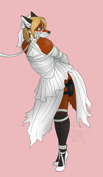...All Bound in White by BnGJessie