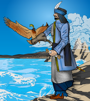The Falconer by Sulemania