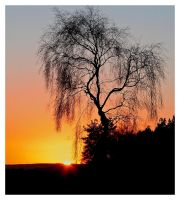 derbyshire sunset by mzkate
