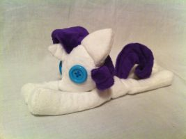Derpy Rarity beanie by PlanetPlush