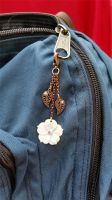 Leaf and Flower  Clasp Charm by 2ndWindAccessories