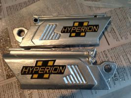 I went with Hyperion for the label by zackg007