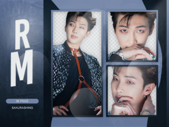 [PACK PNG #017] - RM (BTS) by sakurashing