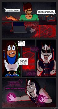 :[Minecraft]: Skye's Journey- Chapter 1- page 26: by Grimmixx