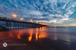 Pier Action | Oceanside Pier by JasonKoons