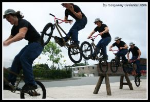 James Bruza - Hop, Barspin Out by rosspenny