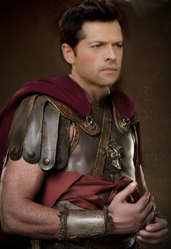 Castiel in armour for Nev by Dinky-Mew