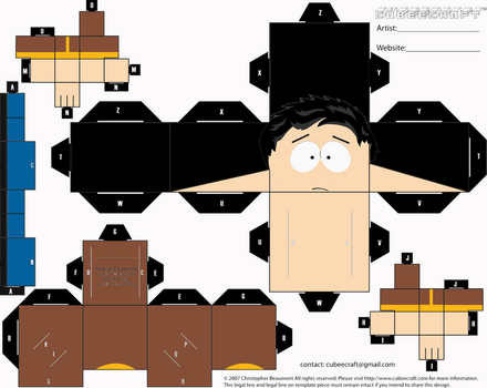 Papercraft 3: Luis by Martin-from-SP