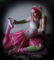 . colour me tickled pink . by Countess-Grotesque