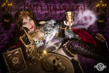 Liliana of the Veil cosplay - Happy Halloween by 20Tourniquet02